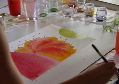 A1 Médium peinture- Therapie artistique une aide accessible a tous – Chambery Savoie - Michele Mercier