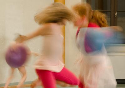 Cours de danse Temps Danse Vie avec Michele Mercier (5 et 6 ans)
